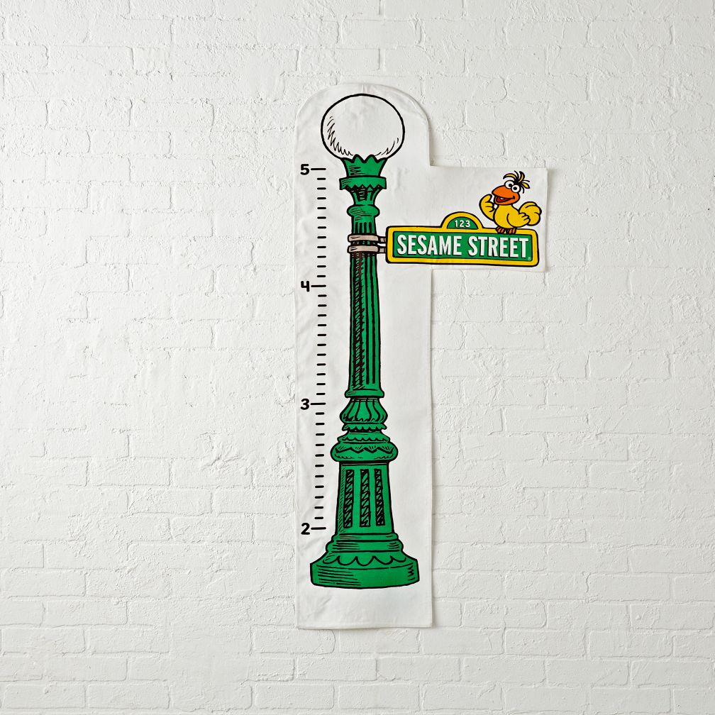 Sesame Street Sign Growth Chart  The Land of Nod