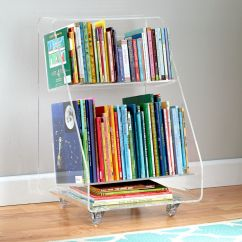 Crate And Barrel Rocking Chair Desk Design Within Reach Now You See It Acrylic Book Cart | The Land Of Nod