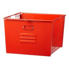 Baby Sleeping Chair Covers & Linens Madison Heights Mi Saved By The Cube Bin Locker Basket (red-orange) | Land Of Nod