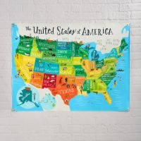 United States of America Banner | The Land of Nod