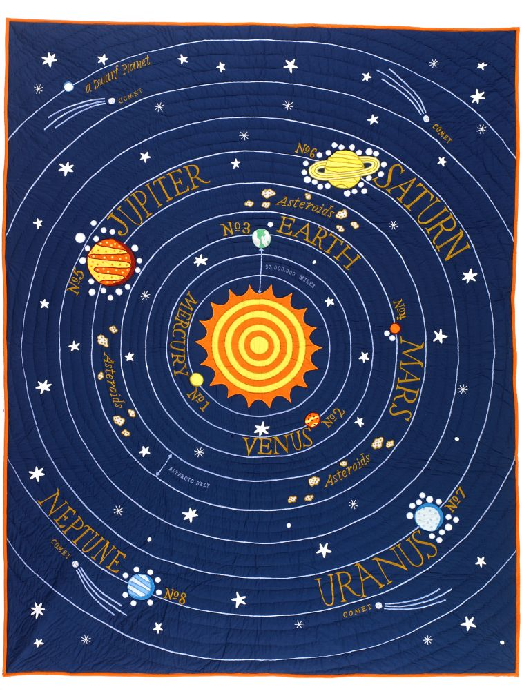 All Solar Systems Go Quilt FullQueen  The Land of Nod