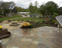 Flagstone Patio Pictures - Gallery - Landscaping Network