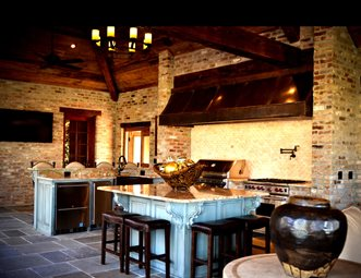 outdoor kitchens pictures paint colors for small kitchen gallery landscaping network luxury screened angelo s lawn scape of louisiana inc baton rouge