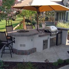 Patio Kitchen White Corner Cabinets For Outdoor Pictures Gallery Landscaping Network Fire Feature Grill Shade Umbrella Simple Elegance Rocklin Ca