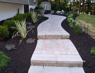 paver walkway pictures gallery