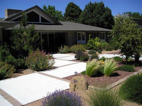 maintenance front yard landscaping