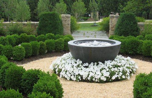 french garden design - landscaping