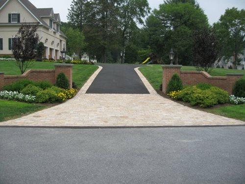 Driveway Maçonaria clássico Ltd. Putnam Valley, Nova Iorque