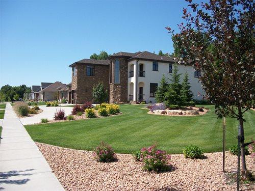 landscaping corner lot