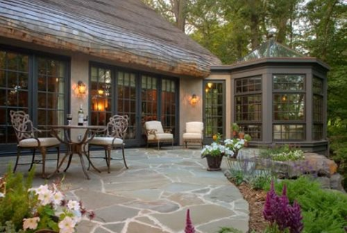 colonial landscape ideas - landscaping