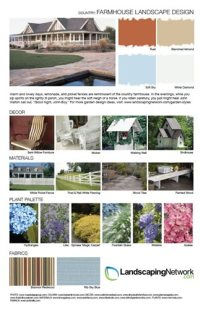 Garden Style Design Sheets - Landscaping Network