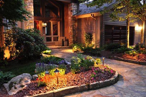 landscape lighting - landscaping