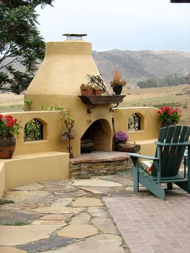 Southwestern Outdoor Fireplaces  Landscaping Network