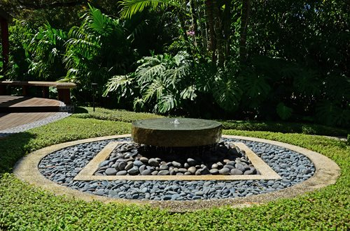 landscaping fountain guide