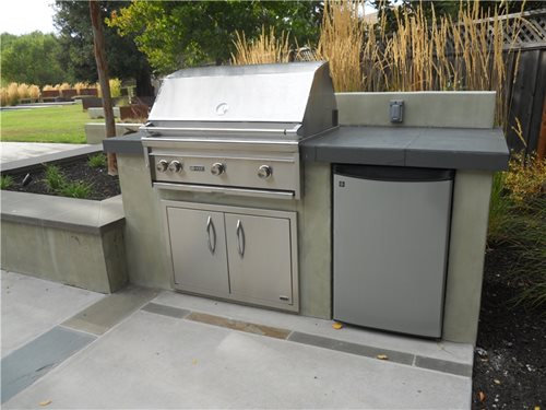 grill for outdoor kitchen island with leaf cost landscaping network stainless steel refrigerator appliances