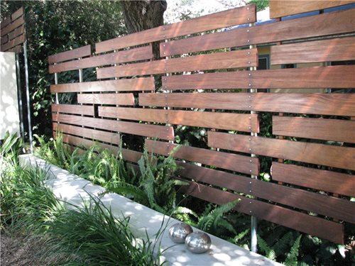 Modern Fencing & Walls Landscaping Network