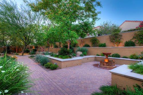 Lush Mediterranean Landscape in Arizona  Landscaping Network
