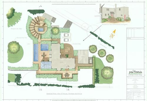 Garden Design Ideasbackyard Garden Designs Elegant Large Garden