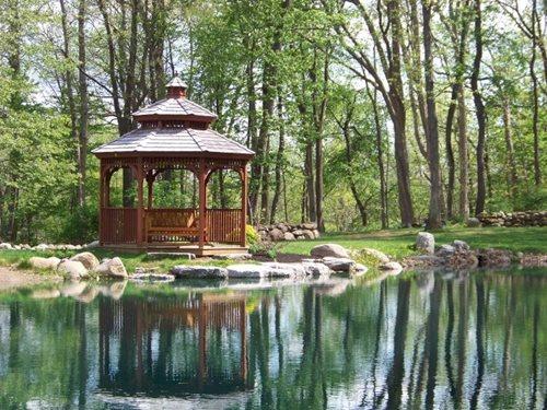 gazebo design ideas - landscaping