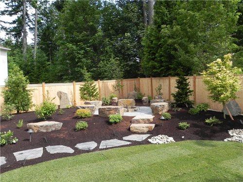 Backyard Family Retreat In Northwestern Washington Landscaping