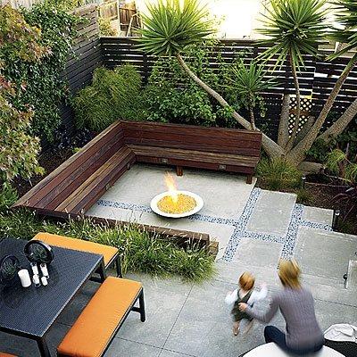 small backyard design - landscaping