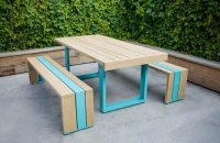 Modern Picnic Table - Landscaping Network