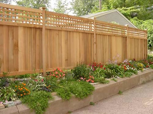 wood fence pros & cons - landscaping