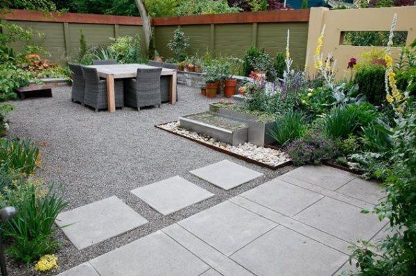 small backyard hardscape ideas