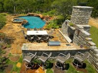 Backyard Landscaping - Boerne, TX - Photo Gallery ...