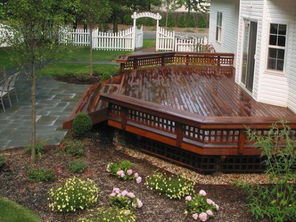 deck design - stony brook ny