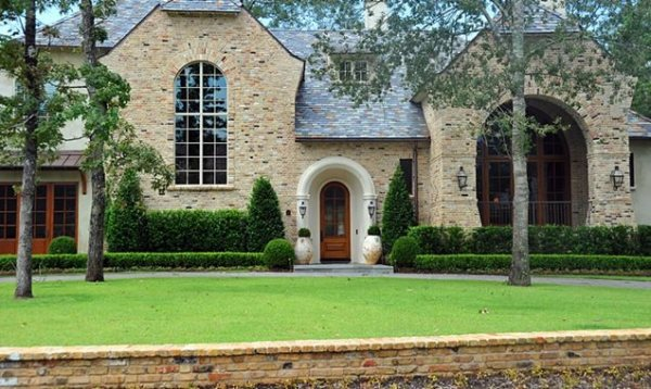 front yard landscaping - houston