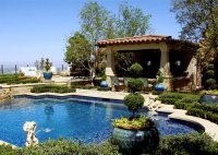 Download landscaping: Tuscan style backyard landscaping