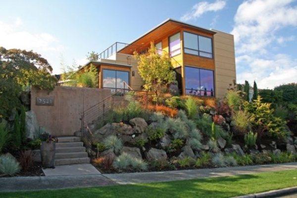 modern landscaping - seattle wa