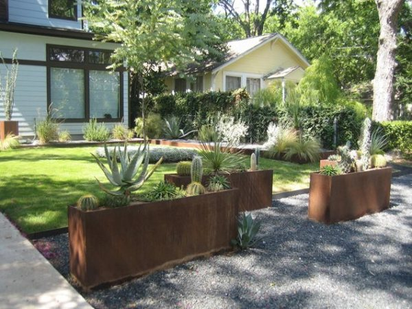modern landscaping - austin tx