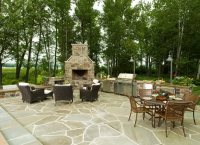 Outdoor Fireplace - Petoskey, MI - Photo Gallery ...