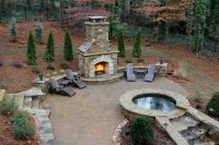 Outdoor Fireplace - Woodstock, GA - Photo Gallery ...