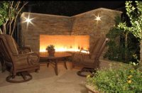 Outdoor Fireplace - Mesa, AZ - Photo Gallery - Landscaping ...