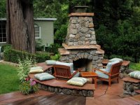 Outdoor Fireplace - Novato, CA - Photo Gallery ...