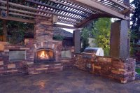 Outdoor Fireplace - Mead, WA - Photo Gallery - Landscaping ...