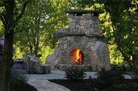 Outdoor Fireplace - Bernardsville, NJ - Photo Gallery ...
