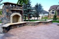 Landscaping Ideas For Outdoor Fireplaces PDF
