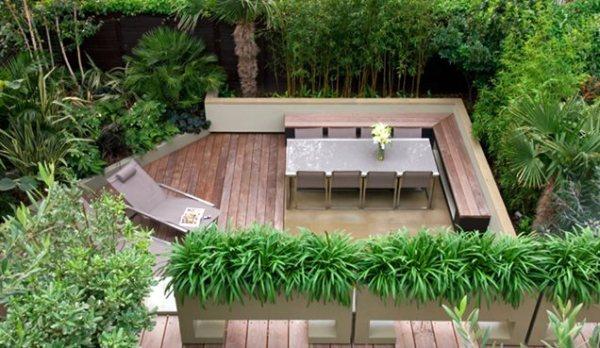 small yard landscaping - london