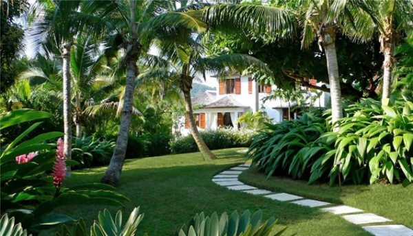 tropical landscaping - key west