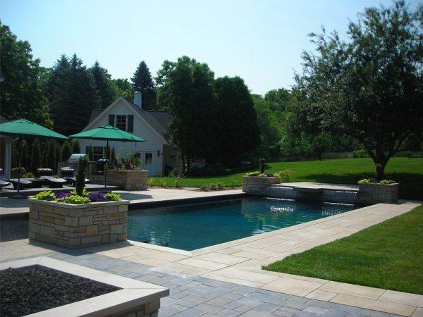 backyard landscaping - grand rapids
