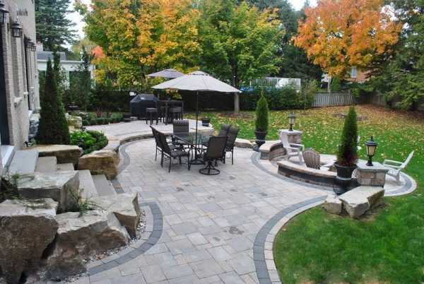 backyard landscaping - whitby