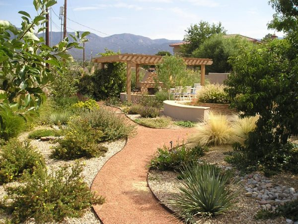backyard landscaping - albuquerque