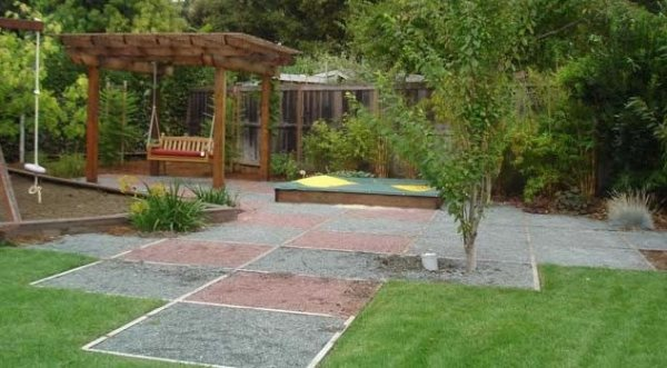 25+ Landscape Plan Backyard Sandbox Pictures and Ideas on