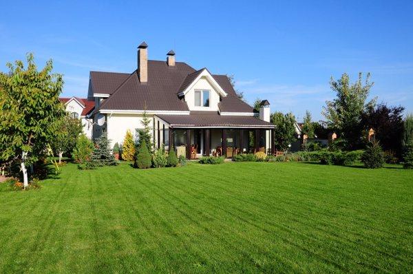 backyard landscaping - calimesa