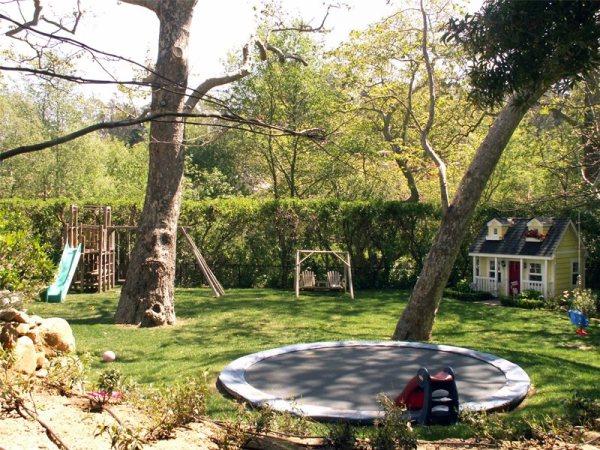 backyard landscaping - santa barbara