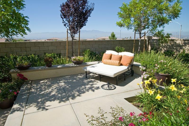 concrete patio pictures gallery
